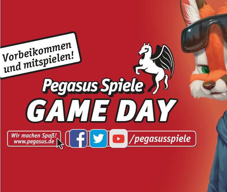 9.12. Pegasus-Spiele-Tag bei Brettspielversand
