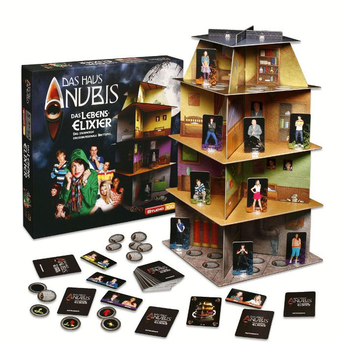 Das Haus Anubis Spiele