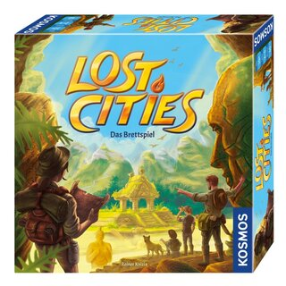 Lost Cities - Das Brettspiel