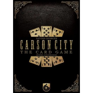 Carson City - Das Kartenspiel (multilingual)