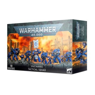Warhammer 40.000 - Space Marines - Tactical Squad