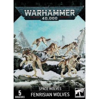 Warhammer 40.000 - Space Wolves - Fenrisian Wolves Pack