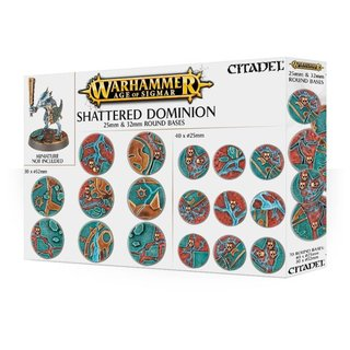 Age of Sigmar - Shattered Dominion (25 & 32 mm Rundbasen)