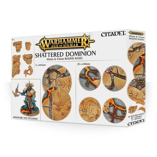 Age of Sigmar - Shattered Dominion (40 & 65 mm Rundbasen)