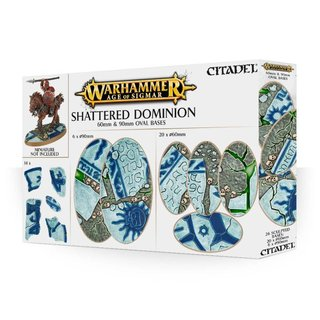 Age of Sigmar - Shattered Dominion (60 & 90 mm Ovalbasen)