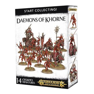 Age of Sigmar - Daemons of Khorne (Start Collecting)