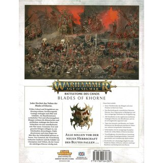 Age of Sigmar - Battletome - Blades of Khorne (SC)