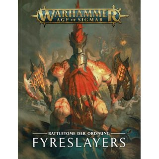 Age of Sigmar - Battletome - Fyreslayers (SC)