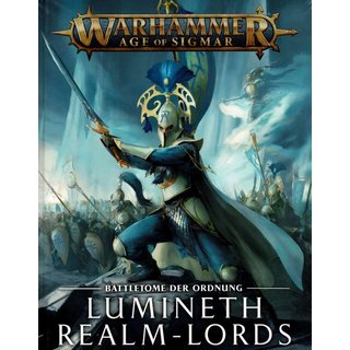 Age of Sigmar - Battletome - Lumineth Realm-lords 2021 (HC)