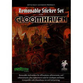 Gloomhaven - Removable Sticker Set (engl.)