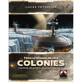 Terraforming Mars - The Colonies (Expansion) (engl.)