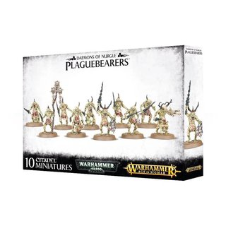 Age of Sigmar - Daemons of Nurgle - Plaguebearers