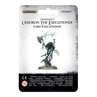 Age of Sigmar - Nighthaunt - Liekeron the Executioner...