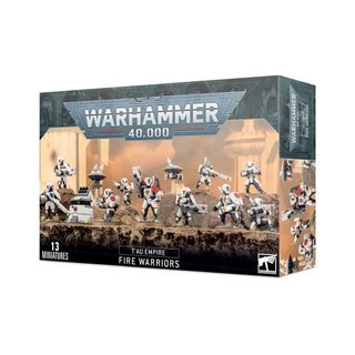 Warhammer 40.000 - Tau Empire - Fire Warriors Strike Team