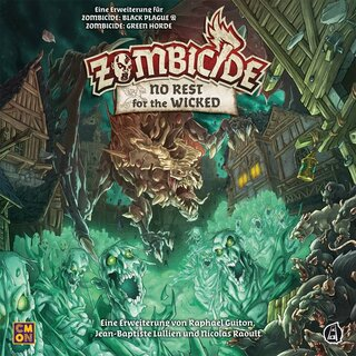 Zombicide Green Horde - No Rest for the Wicked (Erweiterung)