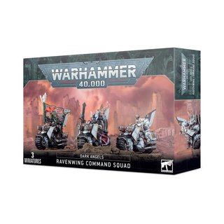 Warhammer 40.000 - Dark Angels - Ravenwing Command Squad
