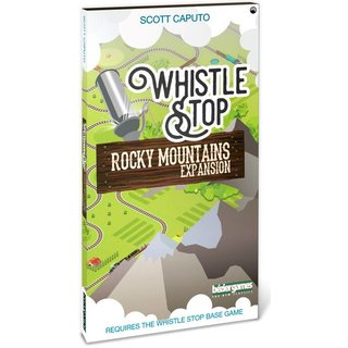 Whistle Stop - Rocky Mountain (Expansion) (engl.)