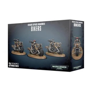 Warhammer 40.000 - Chaos Space Marines - Bikers