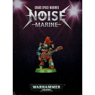 Warhammer 40.000 - Chaos Space Marines - Noise Marine
