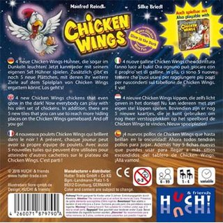 Chicken Wings - Glow in the Dark