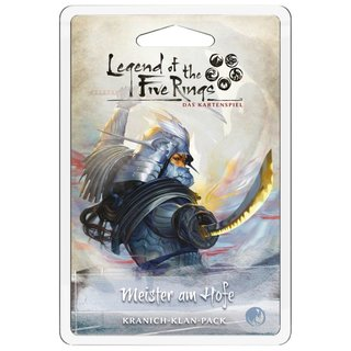 Legend of the 5 Rings LCG - Meister am Hofe (Erweiterung)