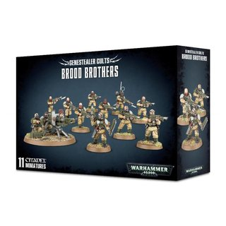 Warhammer 40.000 - Genestealer Cults - Brood Brothers