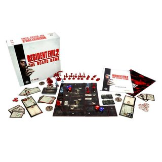 Resident Evil 2 - The Board Game (engl.)