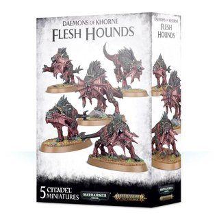 Age of Sigmar - Blades of Khorne - Flesh Hounds