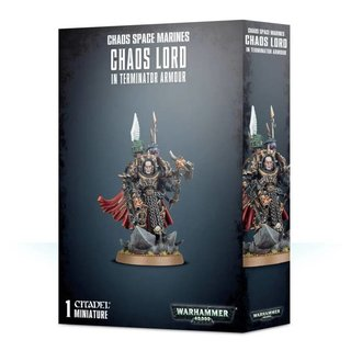 Warhammer 40.000 - Chaos Space Marines - Chaos Lord (in...