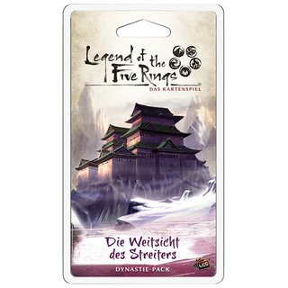 Legend of the 5 Rings LCG - Die Weitsicht des Streiters...