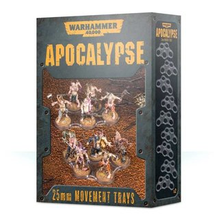 Warhammer 40.000 - Apocalypse - Movement Trays (25 mm)