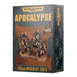 Warhammer 40.000 - Apocalypse - Movement Trays (40 mm)