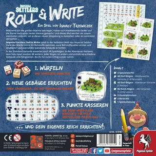 Imperial Settlers - Roll & Write