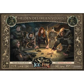 A Song of Ice & Fire - Helden des Freien Volkes I...