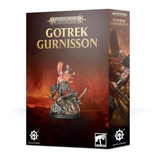 Age of Sigmar - Fyreslayers - Gotrek Gurnisson