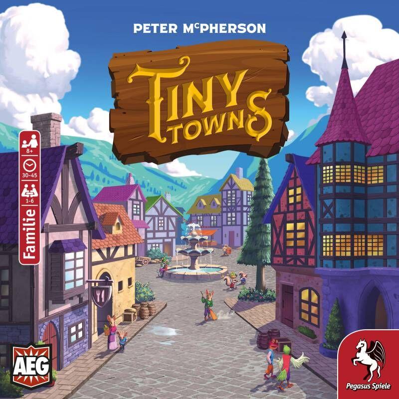 Fortune Erweiterung Pegasus Spiele Tiny Towns deutsch