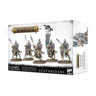 Age of Sigmar - Ossiarch Bonereapers - Kavalos Deathriders