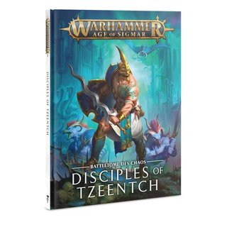 Age of Sigmar - Battletome - Disciples of Tzeentch (SC)