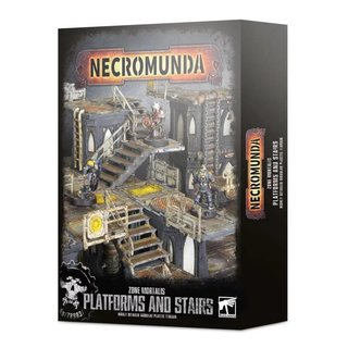 Necromunda - Zone Mortalis - Platforms & Stairs