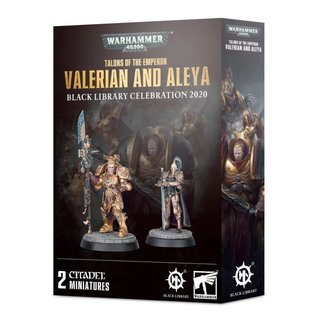 Warhammer 40.000 - Talons of the Emperor - Valerian and...