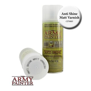 Anti-Shine - Matt Varnish