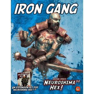 Neuroshima Hex 3.0 - Iron Gang (Expansion) (engl.)
