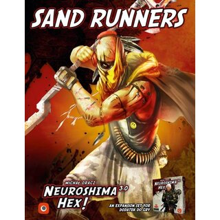 Neuroshima Hex 3.0 - Sand Runners (Expansion) (engl.)