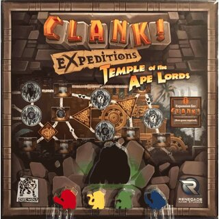 Clank! Expeditions - Temple of the Ape Lords (Expansion)...