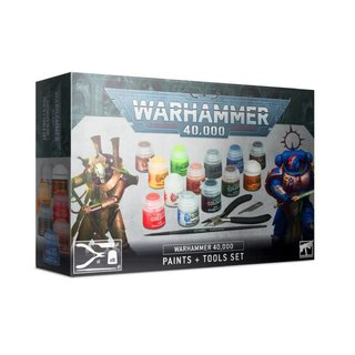 Warhammer 40.000 - Paints & Tools Set