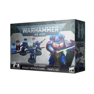Warhammer 40.000 - Space Marines - Assault Intercessors &...