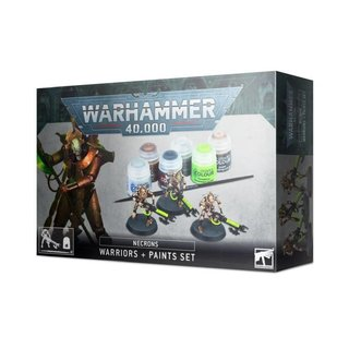 Warhammer 40.000 - Necrons - Warriors & Paints Set