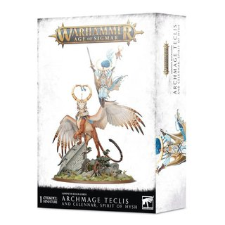 Age of Sigmar - Lumineth Realm-lords - Archmage Teclis &...