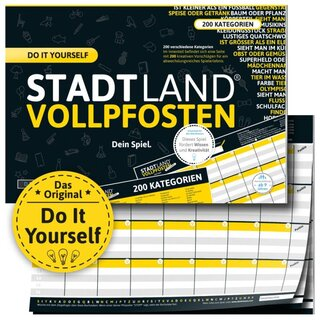 Stadt Land Vollpfosten - Do it yourself