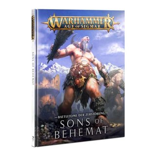 Age of Sigmar - Battletome - Sons of Behemat (HC)